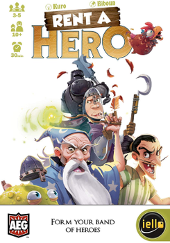 Rent a Hero board game