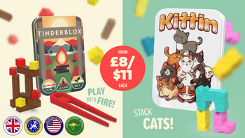 """Tinderblox & Kittin - """"Play with fire"""" & Stack cats!"""