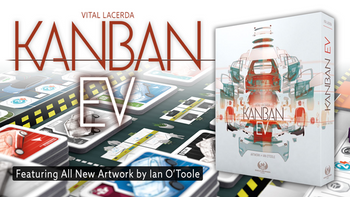 Kanban EV by Vital Lacerda with Artwork by Ian O'Toole