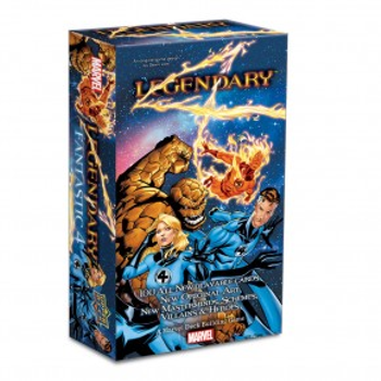 Legendary™: A Marvel Deck Building Game – Fantastic 4 Expansion board game
