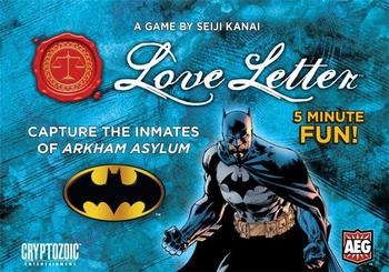Love Letter: Batman board game