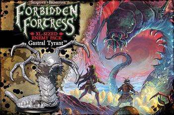 Shadows of Brimstone: Forbidden Fortress - Gastral Tyrant XL Enemy Pack board game
