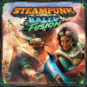 Steampunk Rally Fusion board game