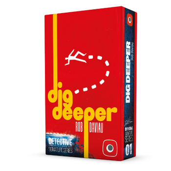 Detective: Signature Series - Dig Deeper board game