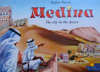 Medina board game