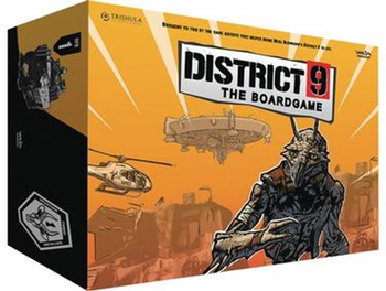 District 9: The Boardgame board game