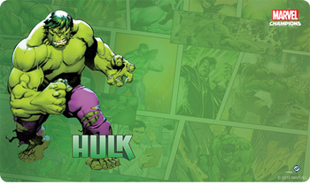 Marvel Champions: The Card Game - Hulk Playmat