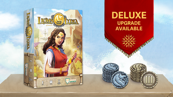 Lions of Lydia board game