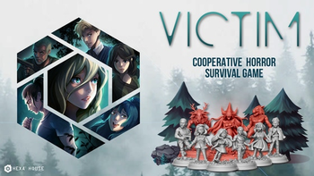 Victim: The Cursed Forest board game