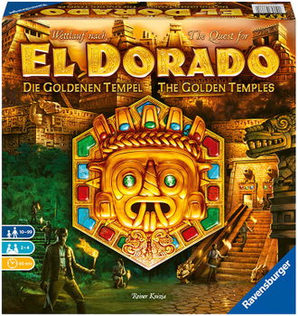 The Quest for El Dorado: The Golden Temples board game