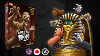 Night of the Mummy board game