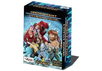 VENOM Assault: Villains & Valor board game