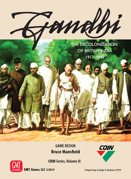Gandhi: The Decolonization of British India, 1917 – 1947 board game