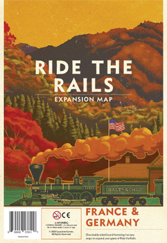 Ride the Rails: France & Germany Expansion board game