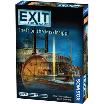 Exit: The Game – Theft on the Mississippi board game