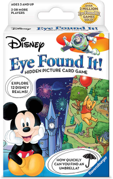 World of Disney Eye Found It Card Game board game