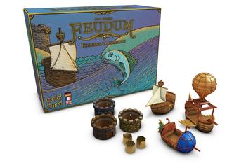 Feudum: Rudders & Ramparts Kickstarter Edition board game