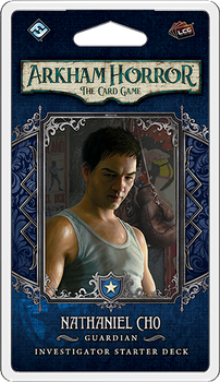 Arkham Horror: The Card Game – Nathaniel Cho: Investigator Starter Deck board game