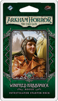 Arkham Horror: The Card Game - Winifred Habbamock Investigator Starter Deck board game