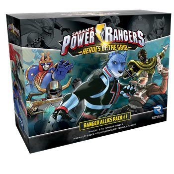 Power Rangers: Heroes of the Grid - Ranger Allies Pack 1 board game