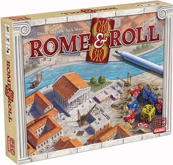 Rome & Roll board game