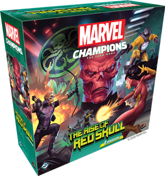 Marvel Champions: The Card Game - The Rise of Red Skull Expansion board game
