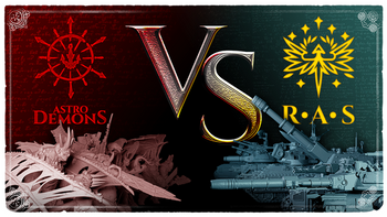 AstroDemons VS R.A.S. board game
