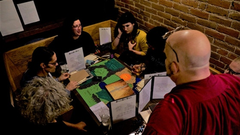ADVANCED FANTASY ROLEPLAYING board game