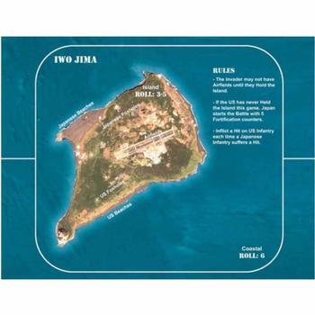 Fleet Commander: Nimitz - Islands board game