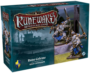 Runewars The Miniatures Game: Rune Golems Unit Expansion board game