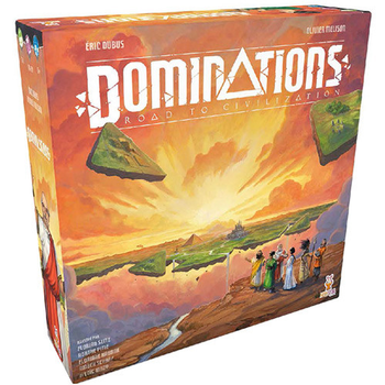 Dominations: Road to Civilization board game