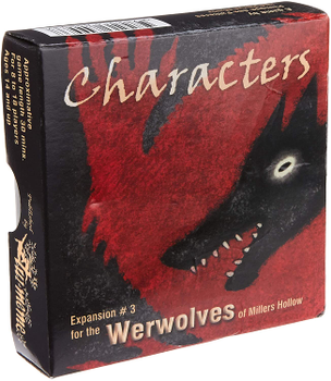 The Werewolves of Miller's Hollow: Characters board game