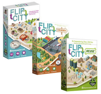 Flip City Bundle board game