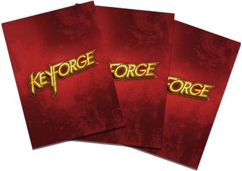 KeyForge: Logo Sleeves - Red