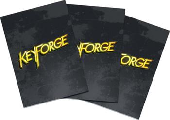 KeyForge: Logo Sleeves - Black