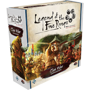 Legend of the Five Rings: The Card Game - Clan War board game