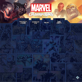 Marvel Champions: The Card Game - 1-4 Player Playmat