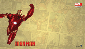 Marvel Champions: The Card Game - Iron Man Playmat