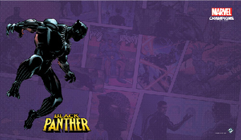 Marvel Champions: The Card Game - Black Panther Playmat