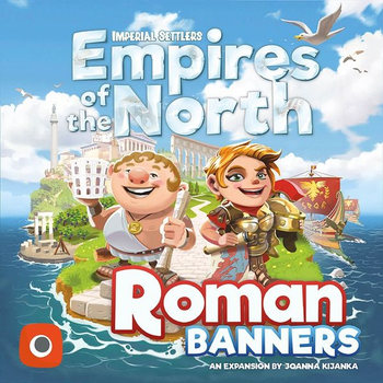 Imperial Settlers: Empires of the North - Roman Banners Expansion board game