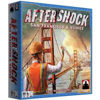 Aftershock: San Francisco & Venice board game