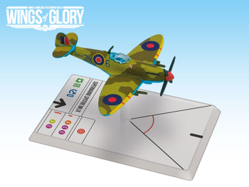Wings of Glory WW2: Spitfire Mk.IX board game