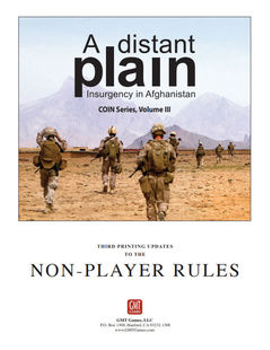 A Distant Plain 2nd Edition: Update Kit board game