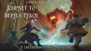 Journey to Beryl's Reach board game