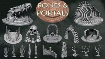 BONES & PORTALS board game