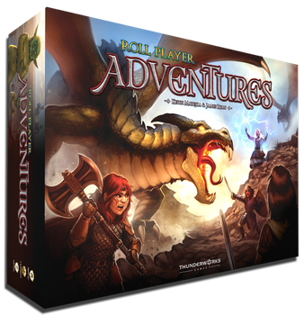Roll Player Adventures board game