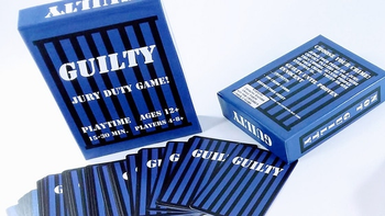 Guilty: Jury Duty Game! board game
