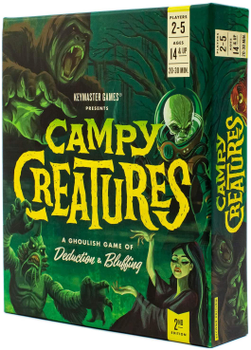 Campy Creatures (2nd Edition) board game