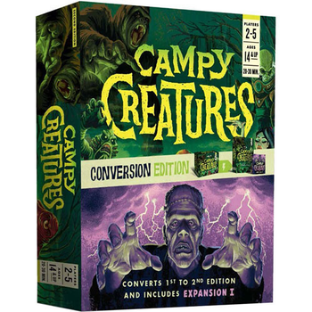 Campy Creatures: Conversion Edition board game