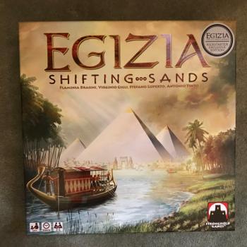 Egizia: Shifting Sands – Kickstarter Edition board game